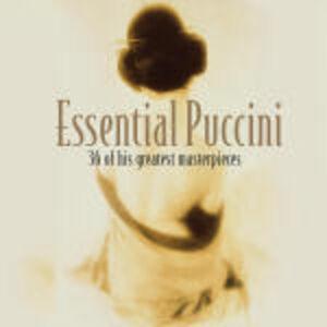 Foto Cover di Essential Puccini, CD di Giacomo Puccini, prodotto da Decca