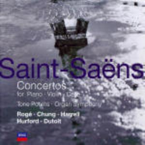 CD Concerti per violoncello - Concerti per violino - Concerti per pianoforte - Poemi sinfonici di Camille Saint-Saëns