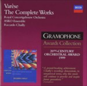 CD The Complete Works di Edgar Varèse