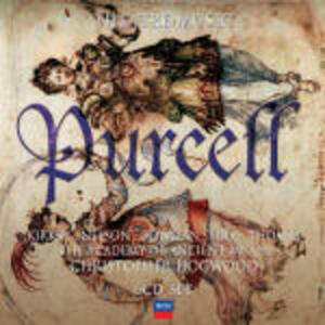 Theatre Music - CD Audio di Henry Purcell,Christopher Hogwood,Academy of Ancient Music,Emma Kirkby,James Bowman