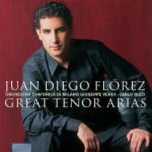 Great Tenor Arias - CD Audio di Juan Diego Florez