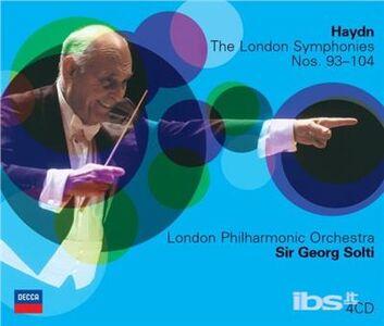 Foto Cover di Sinfonie n.93, n.94, n.95, n.96, n.97, n.98, n.99, n.100, n.101, n.102, n.103, n.104, CD di AA.VV prodotto da Decca