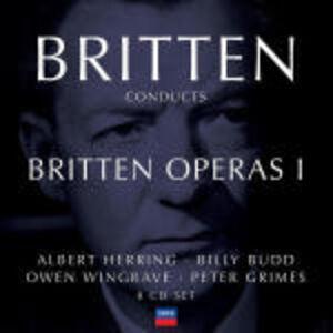 CD Britten conducts Britten Operas vol.1 di Benjamin Britten