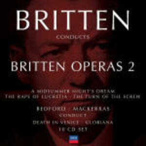 Britten conducts Britten Operas vol.2 - CD Audio di Benjamin Britten