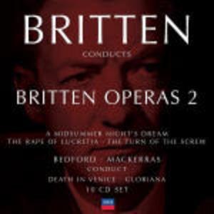 CD Britten conducts Britten Operas vol.2 di Benjamin Britten