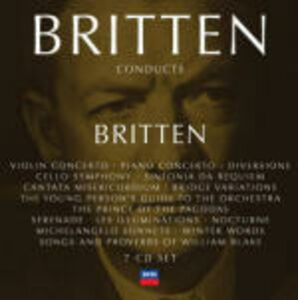 Foto Cover di Britten Conducts Britten, CD di Benjamin Britten, prodotto da Decca