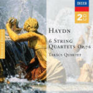 Quartetti per archi n.1, n.2, n.3, n.4, n.5, n.6 - CD Audio di Franz Joseph Haydn,Takacs Quartet