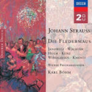 CD Il pipistrello (Die Fledermaus) di Johann Strauss