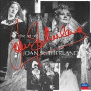 Foto Cover di The Art of Joan Sutherland, CD di Joan Sutherland, prodotto da Decca