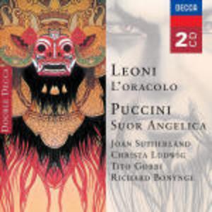CD L'oracolo / Suor Angelica Giacomo Puccini , Franco Leoni