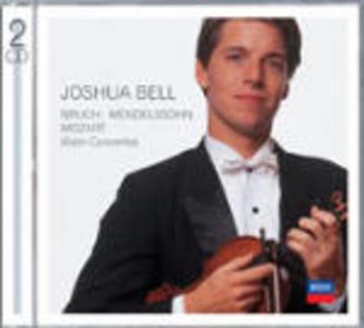 CD Concerti per violino Wolfgang Amadeus Mozart , Felix Mendelssohn-Bartholdy , Max Bruch