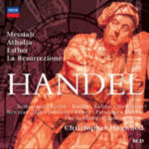 CD Il Messia - Athalia - Esther - La Resurrezione di Georg Friedrich Händel