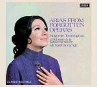 Foto Cover di Arias from Forgotten Opera, CD di AA.VV prodotto da Decca
