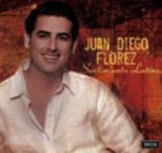Foto Cover di Sentimiento Latino, CD di Juan Diego Florez, prodotto da Decca