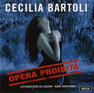 Foto Cover di Opera proibita, CD di AA.VV prodotto da Decca