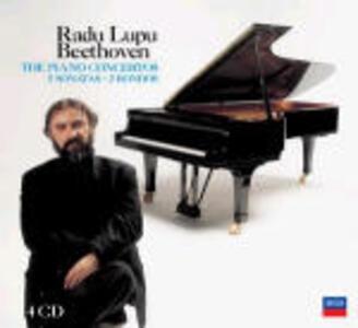 Concerti per pianoforte completi - Sonate - Rondò - CD Audio di Ludwig van Beethoven,Radu Lupu