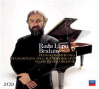 CD Concerto per pianoforte n.1 - Sonata per pianoforte n.3 - Rapsodie di Johannes Brahms