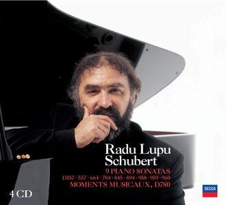 CD Sonate per pianoforte complete - Momenti musicali di Franz Schubert