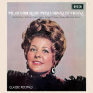 Foto Cover di Prima Donna in Vienna, CD di Pilar Lorengar, prodotto da Decca