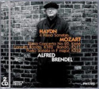 CD Sonate per pianoforte / Concerto per pianoforte n.20 - Rondò K382, K511 - Sonata per pianoforte K332 Franz Joseph Haydn , Wolfgang Amadeus Mozart