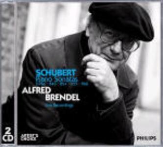 Sonate per pianoforte D784, D840, D894, D959, D960 - CD Audio di Franz Schubert,Alfred Brendel