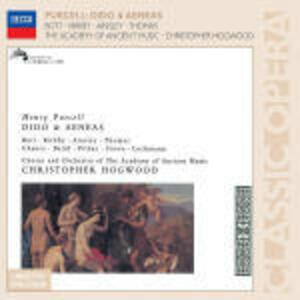 Dido and Aeneas - CD Audio di Henry Purcell,Christopher Hogwood,Emma Kirkby
