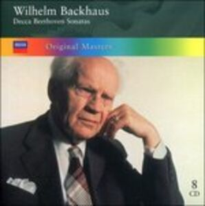 CD Decca Beethoven Sonatas di Ludwig van Beethoven