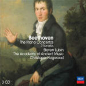 CD Concerti per pianoforte completi di Ludwig van Beethoven