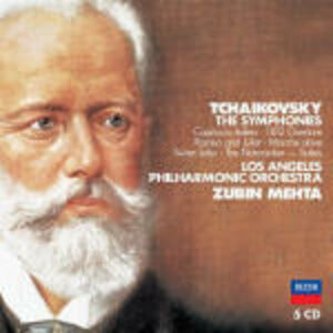 CD Sinfonie complete - Ouvertures di Pyotr Il'yich Tchaikovsky