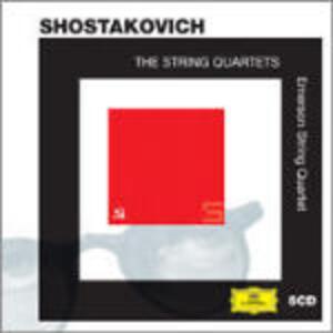 Quartetti - CD Audio di Dmitri Shostakovich,Emerson String Quartet