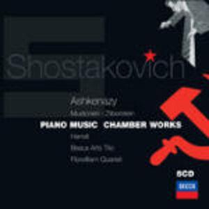 CD Piano Music - Chamber Works di Dmitri Shostakovich