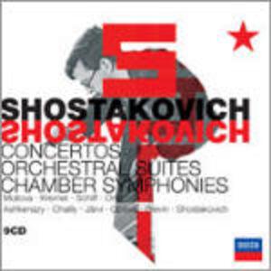 Foto Cover di Concerti - Suites orchestrali - Sinfonie da camera, CD di AA.VV prodotto da Decca