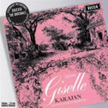 Giselle - CD Audio di Herbert Von Karajan,Adolphe Adam,Wiener Philharmoniker