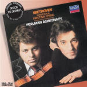 Sonate per violino - CD Audio di Ludwig van Beethoven,Itzhak Perlman,Vladimir Ashkenazy