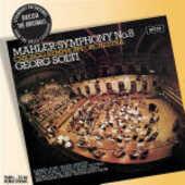 CD Sinfonia n.8 Gustav Mahler Georg Solti Chicago Symphony Orchestra