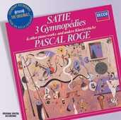 CD 3 Gymnopédies Erik Satie Pascal Rogé