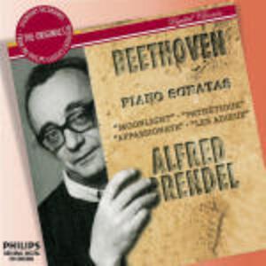 Sonate per pianoforte n.8, n.14, n.23, n.26 - CD Audio di Ludwig van Beethoven,Alfred Brendel