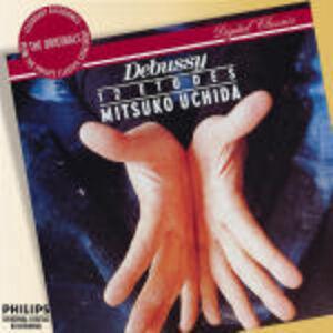 Foto Cover di 12 Studi, CD di Claude Debussy,Mitsuko Uchida, prodotto da Philips