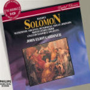 CD Solomon di Georg Friedrich Händel