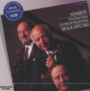 Trii con pianoforte - CD Audio di Franz Schubert,Beaux Arts Trio