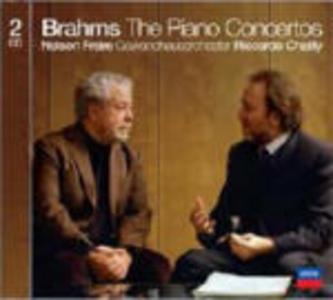 CD Concerti per pianoforte di Johannes Brahms