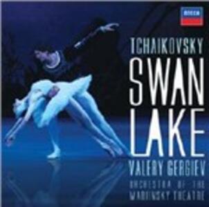 Il lago dei cigni - CD Audio di Pyotr Il'yich Tchaikovsky,Valery Gergiev,Orchestra del Teatro Mariinsky