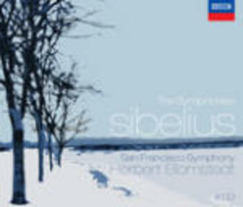 Sinfonie complete - CD Audio di Jean Sibelius,Herbert Blomstedt,San Francisco Symphony Orchestra