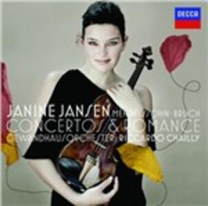 Concerti per violino - CD Audio di Felix Mendelssohn-Bartholdy,Max Bruch,Riccardo Chailly,Gewandhaus Orchester Lipsia,Janine Jansen