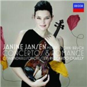CD Concerti per violino Felix Mendelssohn-Bartholdy , Max Bruch