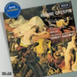 Les nuits d'été / Shéhérazade - CD Audio di Hector Berlioz,Maurice Ravel,Ernest Ansermet,Régine Crespin,Orchestre de la Suisse Romande