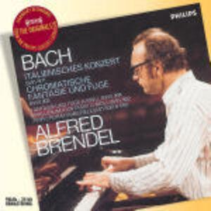 CD Concerto italiano - Fantasia cromatica di Johann Sebastian Bach