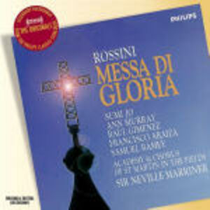CD Messa di Gloria di Gioachino Rossini