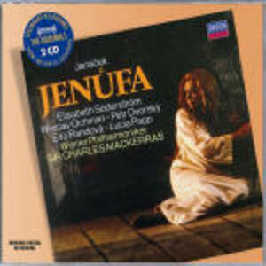 Jenufa - CD Audio di Leos Janacek,Sir Charles Mackerras,Lucia Popp,Elisabeth Söderström,Wieslaw Ochman,Wiener Philharmoniker