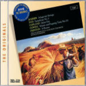 CD Orchestral Works Aaron Copland , Charles Ives , Samuel Barber , Henry Cowell , Paul Creston